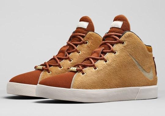 """Nike LeBron 12 NSW Lifestyle """"Lion's Mane"""" – Nikestore Release Info"""