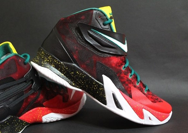 "a725ab62efbe Nike Zoom LeBron Soldier 8 ""Christmas"""