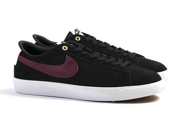 Nike Noir Méchant Blazer Bas Gt Rouge De b7uoblcIf