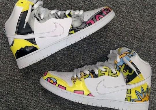"""Nike SB Dunk High """"De La Soul 2"""" – Detailed Images"""