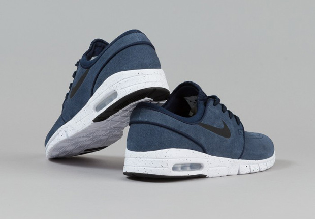 Nike Sb Stefan Janoski Max Quot Obsidian Suede Quot Sneakernews Com