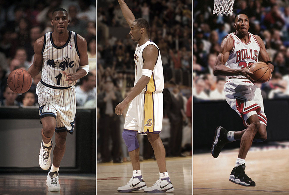 Nike Basketball Revisits Lebron Kobe Pippen And Other Athletes In Their First Shoes