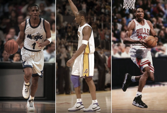 Nike Basketball Revisits LeBron, Kobe, Pippen, and Other Athletes in Their First Shoes