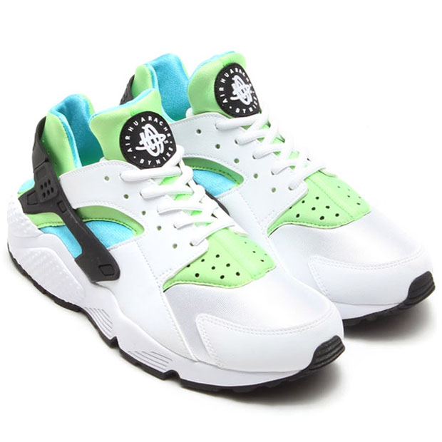 low priced 08560 ff92c Huarache - White - Clearwater - Flash Lime