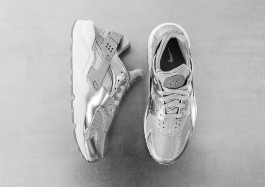 "Nike Womens Air Huarache ""Metallic Silver"" – Release Date"