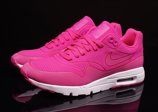 Femmes Nike Air Max 1 Ultra Arbre De Moirage De Fireberry