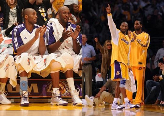 Nike Zoom Kobe 4 Hyperdunk Hybrid for Kobe Bryant