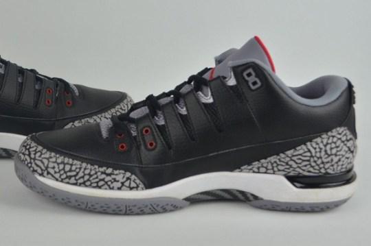 """Nike Zoom Vapor Tour AJ3 """"Black/Cement"""" – Promo Sample for Roger Federer"""