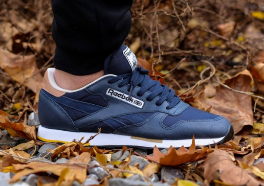 Reebok Classic Leather – Indigo – Walnut