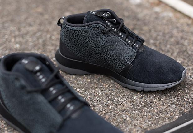 Nike Run Roshe Nm Sneakerboot Safari Negro pWO7Ph8