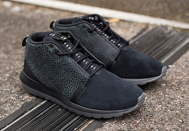 buy popular 48886 2a64a Nike Roshe Run NM Sneakerboot Color BlackDark Grey-Anthracite Style Code  684719-001