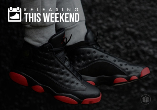Sneakers Releasing This Weekend – December 13th, 2014
