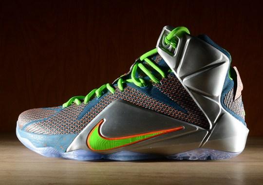 """Nike LeBron 12 """"Trillion Dollar Man"""" – Release Reminder"""
