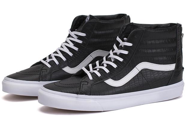 """Vans Sk8-Hi Zip """"Croc Leather"""" Pack"""