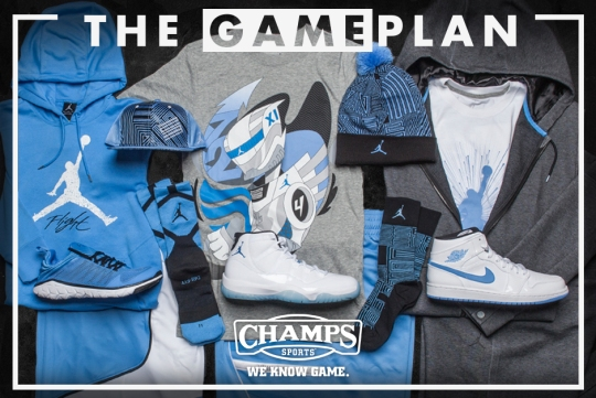 The Game Plan by Champs Sports: Jordan Legend Blue Collection