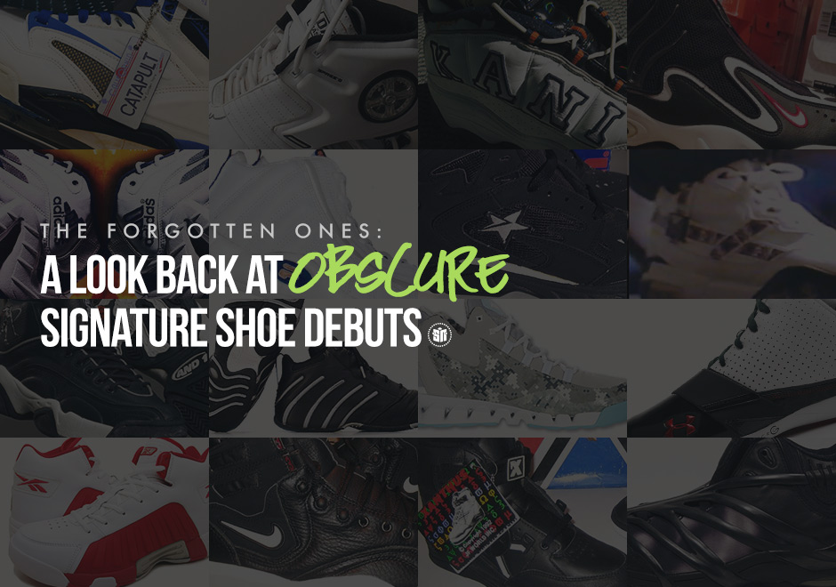 10f0e35a9a52 The Forgotten Ones  A Look Back At Obscure Signature Shoe Debuts ...