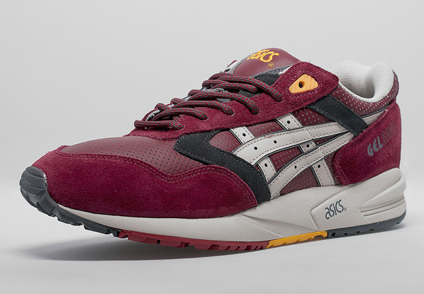 Asics Cael V7.0 Shoes Outlet Online, Clearance Asics Shoes ... |Maroon And Yellow Asics Shoes