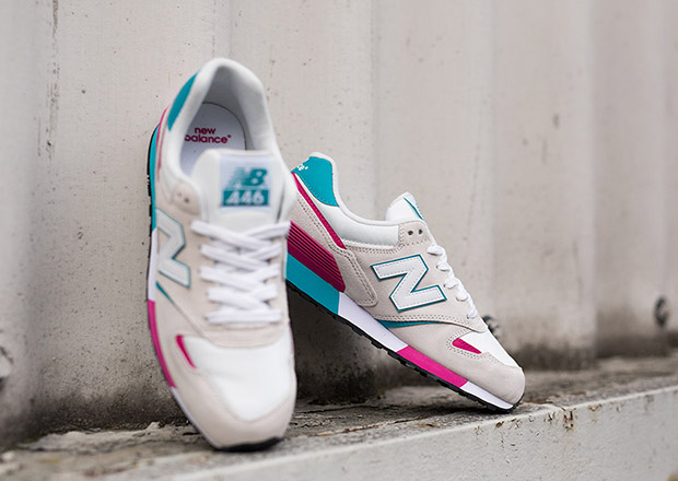 6c4e99cfe14fa New Balance 446 - White - Pink - Turquoise - SneakerNews.com