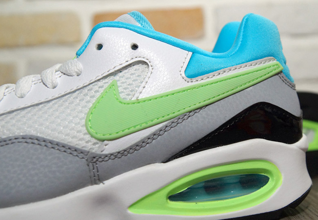 Nike Air Max ST – White – Clearwater – Flash Lime – Wolf Grey