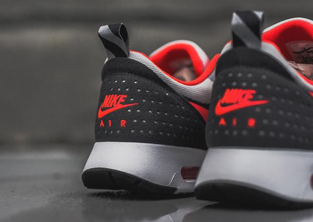 timeless design 36c5c 76c92 Nike Air Max Tavas - Grey - Bright Crimson - SneakerNews.com