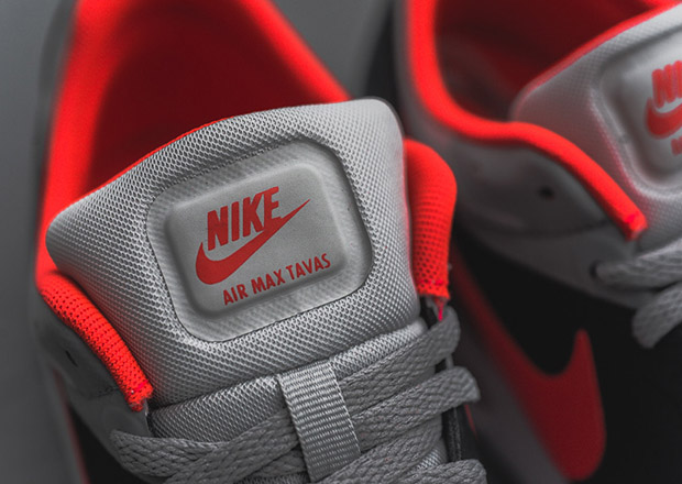 timeless design 11f30 1509d ... hits of vibrant Bright Crimson. The Air Max Tavas is arriving now at select  Nike sportswear locations, including Sneaker Politics. Advertisement. show  ...