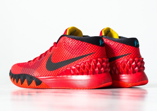 """Nike Kyrie 1 """"Deceptive Red"""" – Release Reminder"""