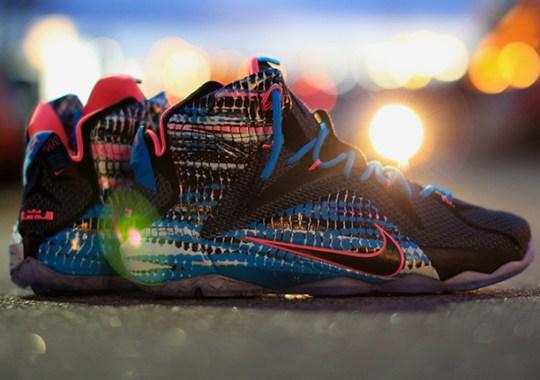 """Nike LeBron 12 """"23 Chromosomes"""" – Release Reminder"""