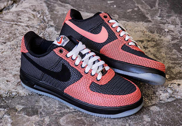 new style 3e2d5 0daef chic Nike Lunar Force 1 14 TXT Crimson Black