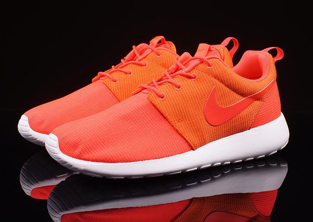 Nike Roshe Surligneur Orange,