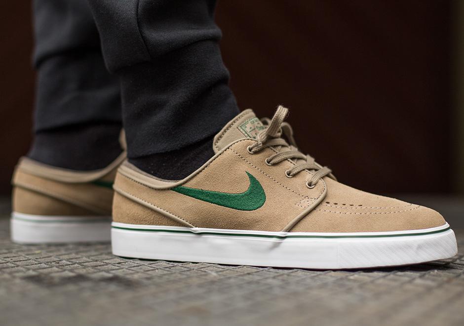 367b7497ef3acc Nike SB Stefan Janoski - Khaki - Gorge Green - SneakerNews.com