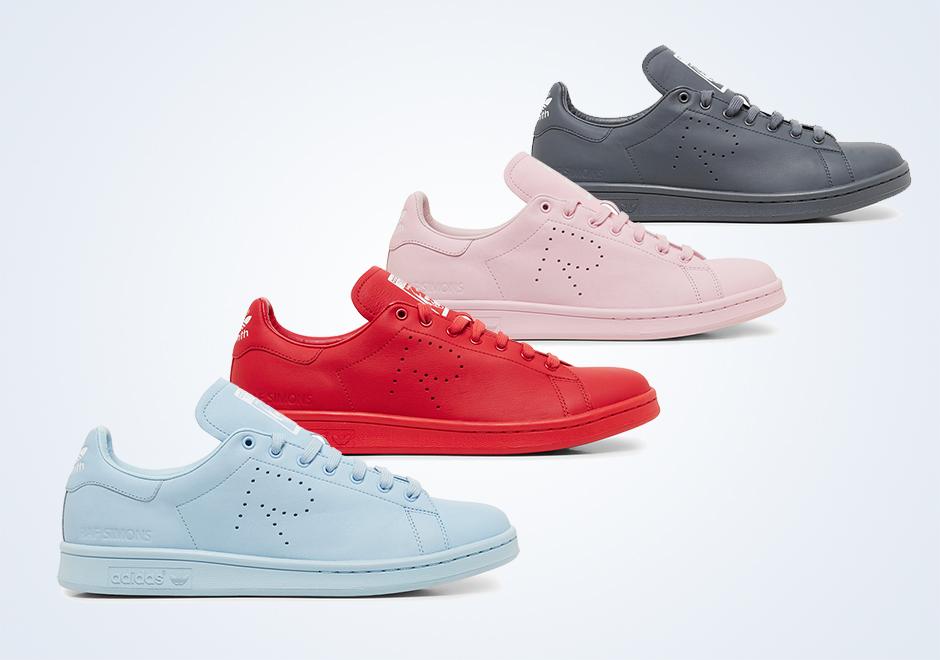 9e65bd8dfd6 Raf Simons x adidas Originals Stan Smith - Spring 2015 Collection -  SneakerNews.com