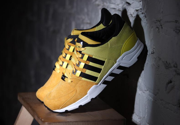 "adidas EQT Running Support '93 ""Bright Yellow"""