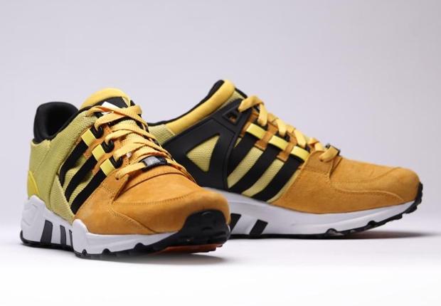 adidas eqt black and yellow