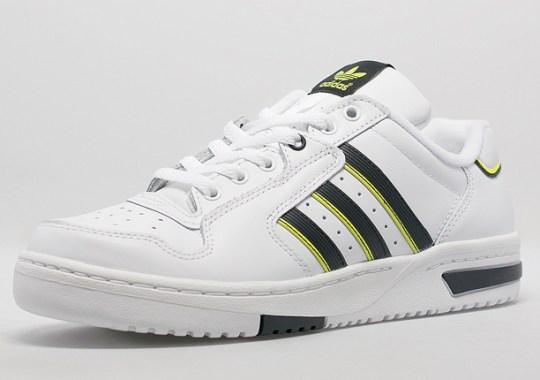 adidas Originals Edberg '86 – White – Black – Solar