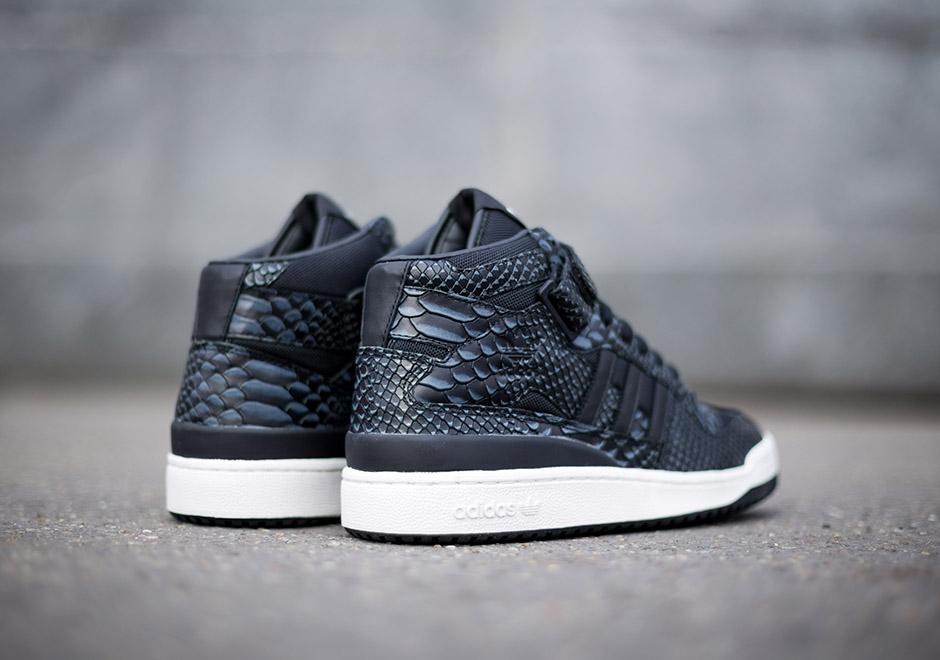 Adidas Originals Forum Mid Rs Reptile Pack Sneakernews Com