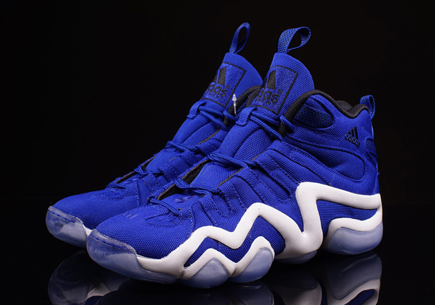 """new product c9cef 42ae8 Remember that adidas Crazy 8 """"East vs. West"""" Pack from the summer The  Collegiate Blue variety in that NBA-themed collection of the adidas Crazy 8  is ..."""