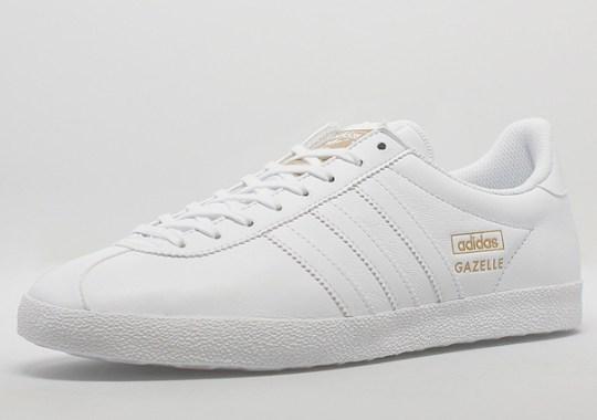 """b4a2334de5a2 adidas Originals Gazelle OG """"White Leather"""""""