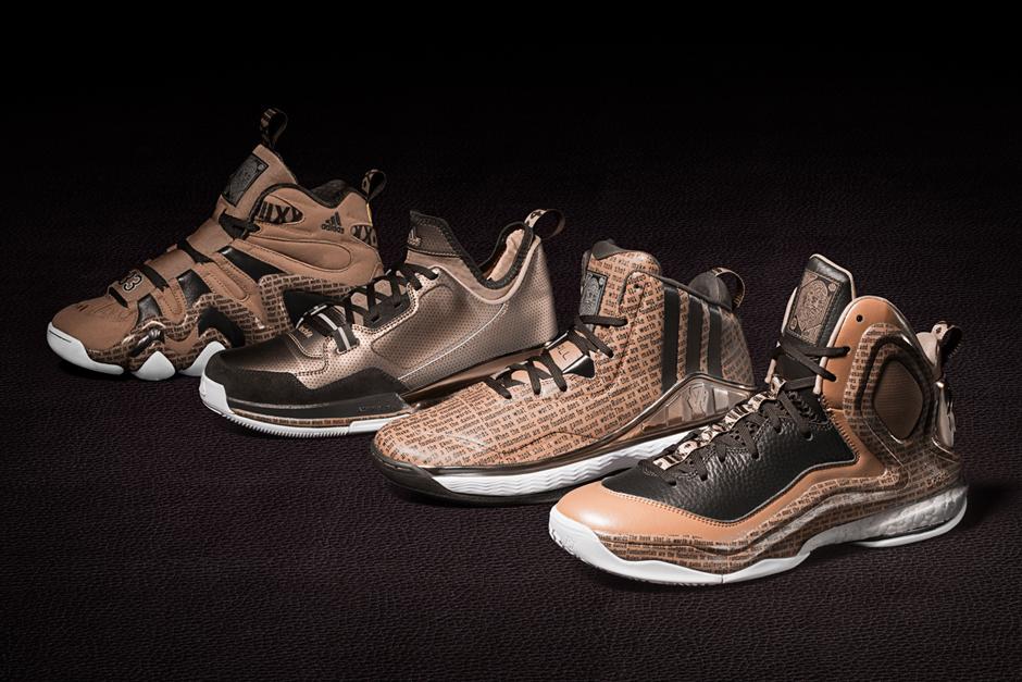 Derrick Rose Black History Shoes