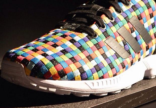 Adidas Zx Flux Rainbow Woven