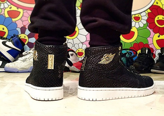 "Air Jordan 1 ""Brooklyn"" – On-Feet Images"