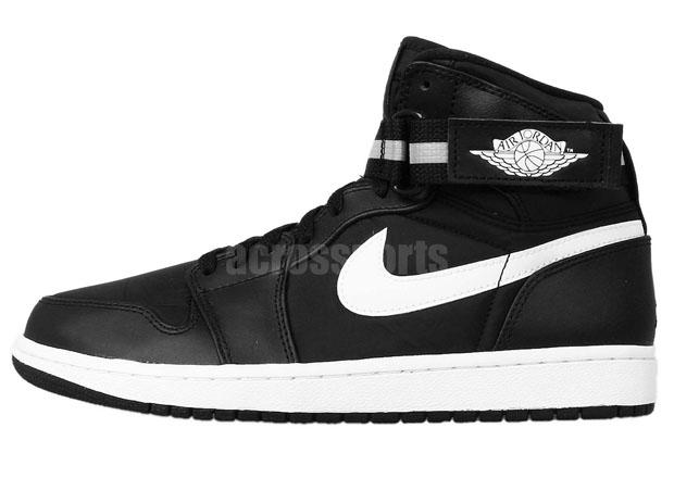Air Jordan 1 High Strap - Black - Dark