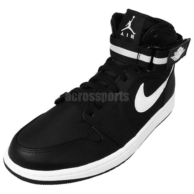 480cba4a0c4 Air Jordan 1 High Strap Color  Black Dark Grey-White Style Code  342132-003