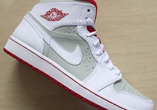 "separation shoes 28593 3b3ae Air Jordan 1 Mid ""Hare"" Returning in 2015"