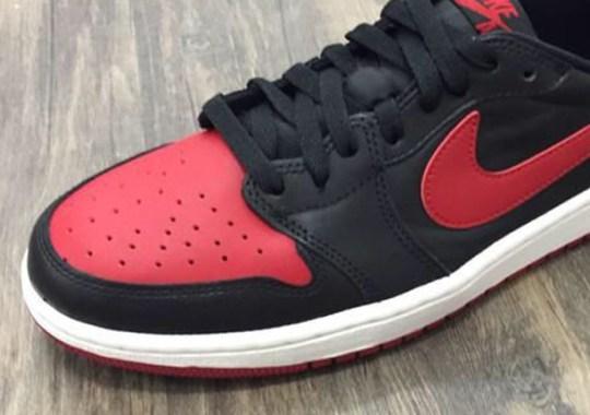 """Air Jordan 1 Retro Low OG """"Bred"""" – Release Date"""