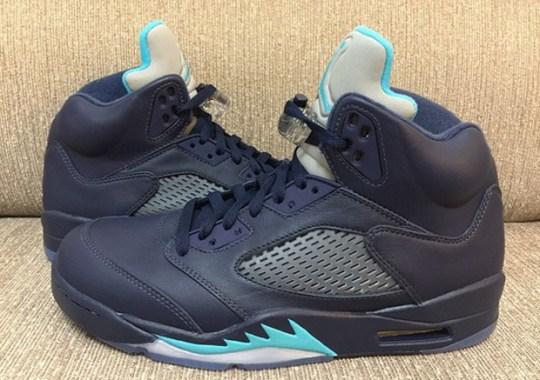 "Air Jordan 5 ""Midnight Navy"" – Release Date"