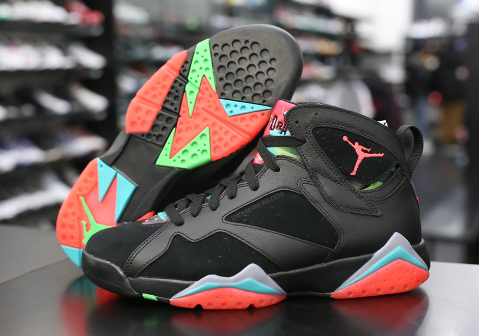 pretty nice 7aa49 afc9c Air Jordan 7 Marvin the Martian Details   SneakerNews.com
