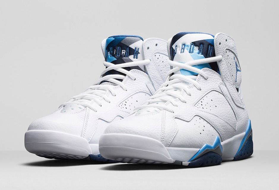 Rétro Bleu Français Nike Air Jordan