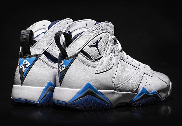 """new products c3804 6e22e Air Jordan 7 """"French Blue"""" – Release Reminder"""