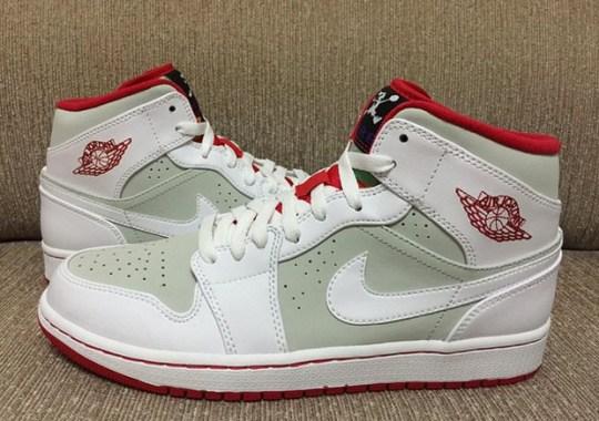 "Air Jordan 1 Mid ""Hare"" – New Images"