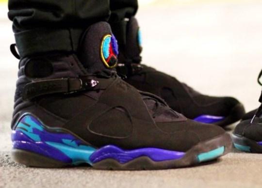 "Air Jordan 8 ""Aqua"" Rumored To Release on Black Friday"